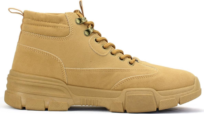 Giày Bốt Nam Cổ Cao Thời Trang Màu Nâu BCC001
