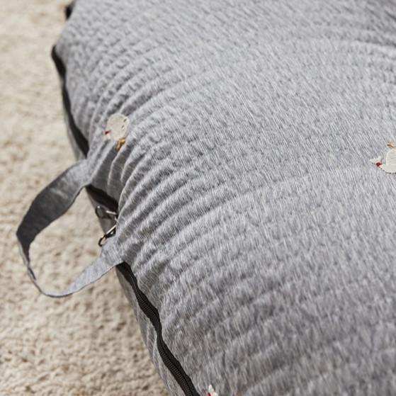 Vỏ gối chống trào ngược Rototo bebe chính hãng chất liệu ripple nhăn thoáng mát chống bụi bẩn nấm mốc tốt