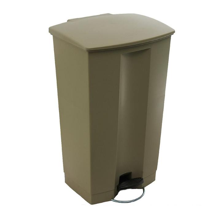 Thùng rác nhựa có nắp bật chống ồn 87L Thương hiệu TRUST