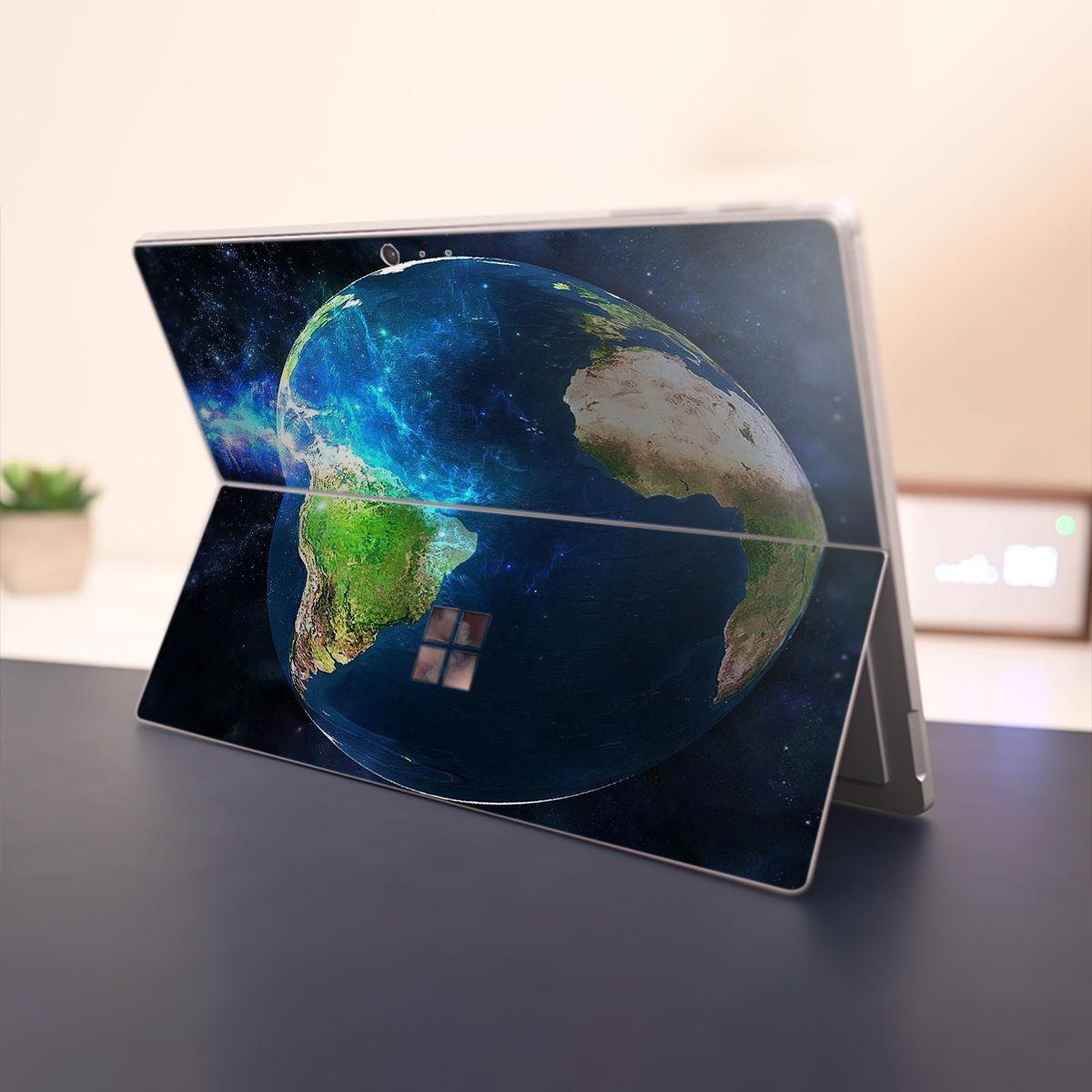 Skin dán hình không gian x04 cho Surface Go, Pro 2, Pro 3, Pro 4, Pro 5, Pro 6, Pro 7, Pro X