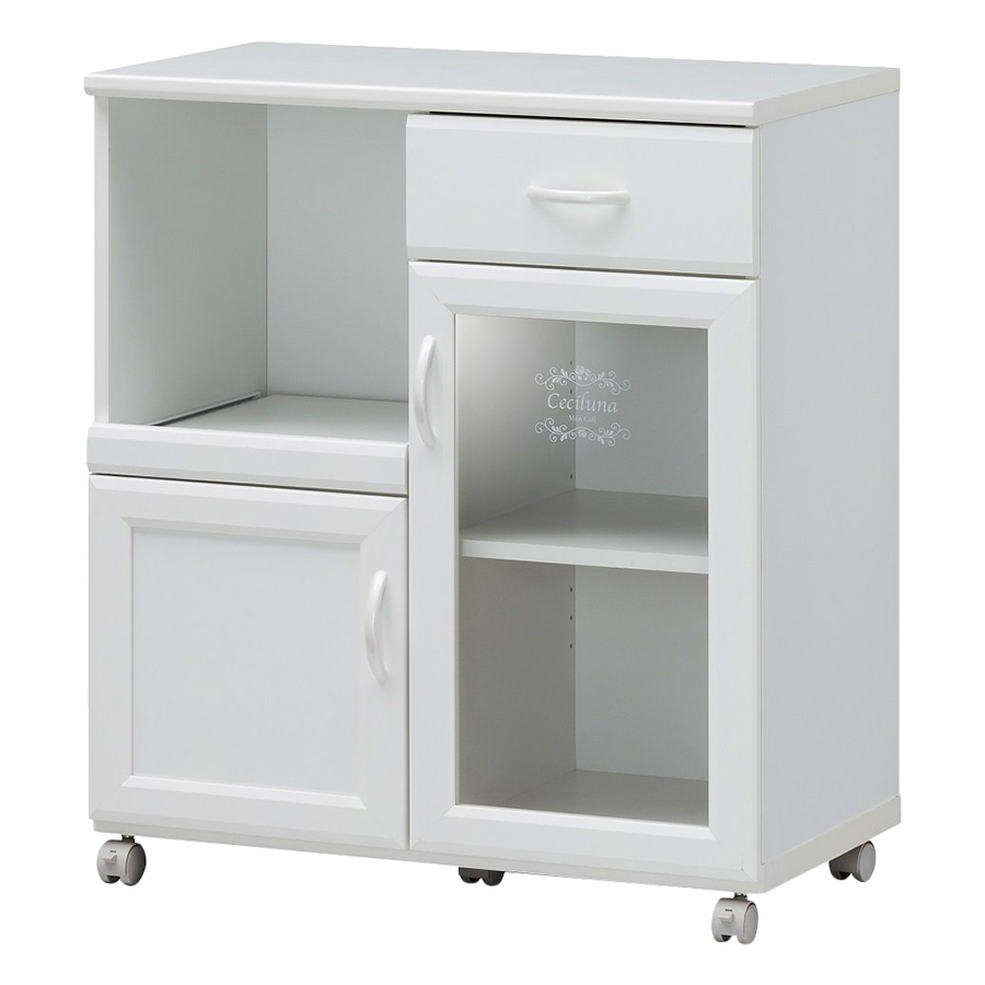 Tủ Bếp Ceciluna-8575 (75.4 x 35.5 x 84.1 cm) - Trắng