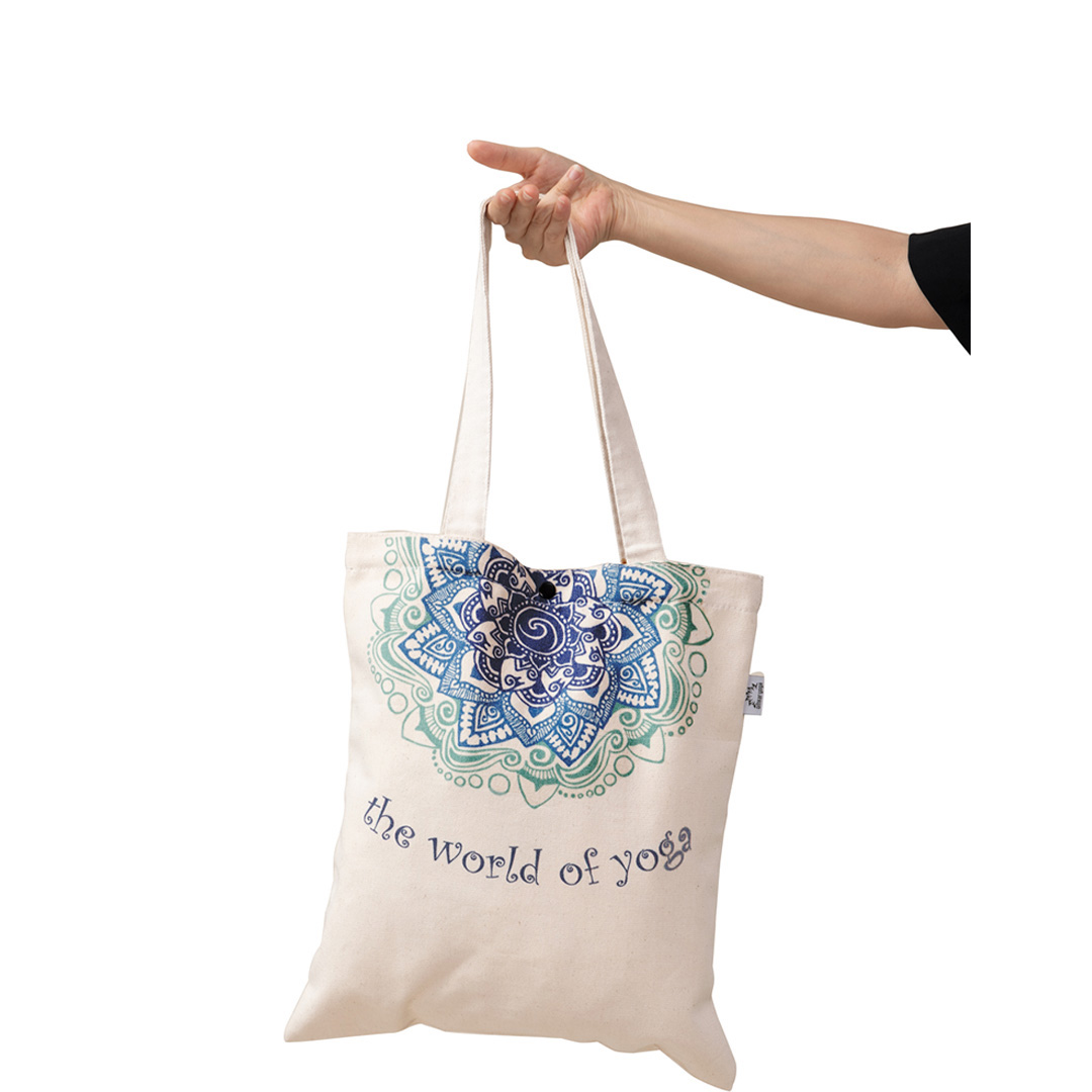 Túi Yoga thời trang họa tiết Mandala xanh ngọc TT-BW014-L1