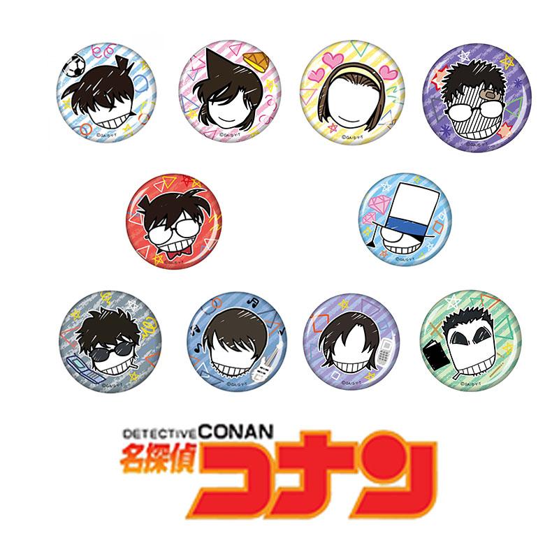 Combo 11 huy hiệu DETECTIVE CONAN - THÁM TỬ LỪNG DANH anime ver BIỂU TƯỢNG