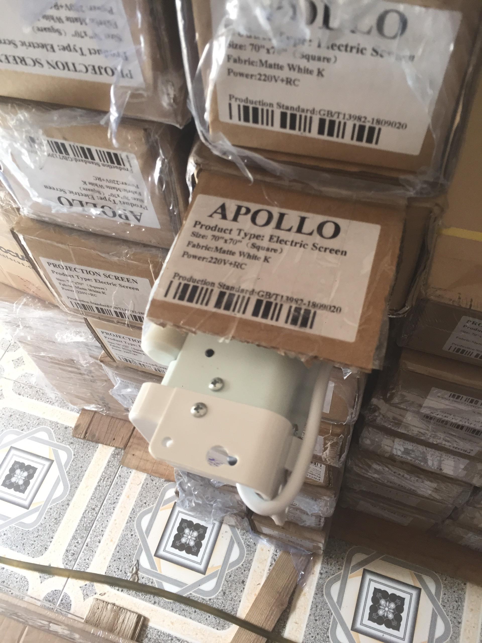Màn chiếu điện Apollo 70 x 70 ( 100 inch ) - Hàng Chính Hãng