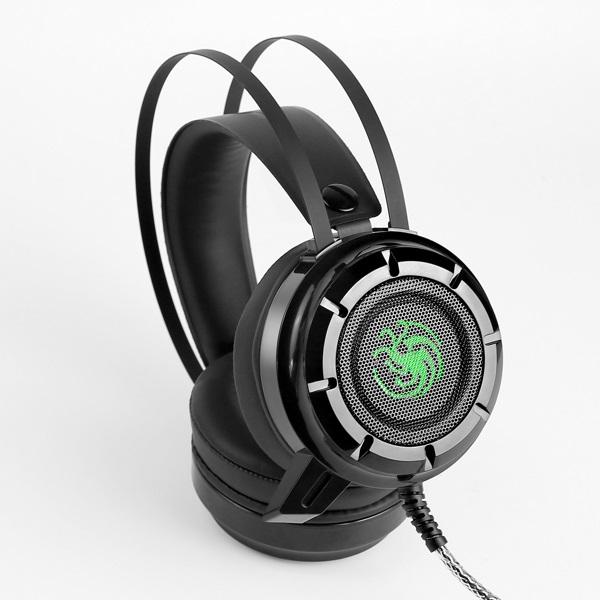 Headphone EXAVP Cao Cấp Gaming/DJ N62 LED + rung - Hàng Chính Hãng