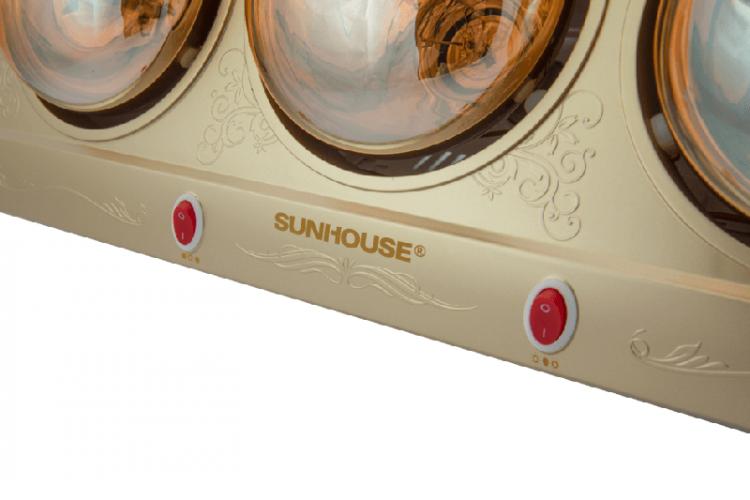 Đèn sưởi phòng tắm SUNHOUSE SHD3813 006