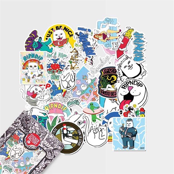 Ripndip - Set 30 sticker hình dán