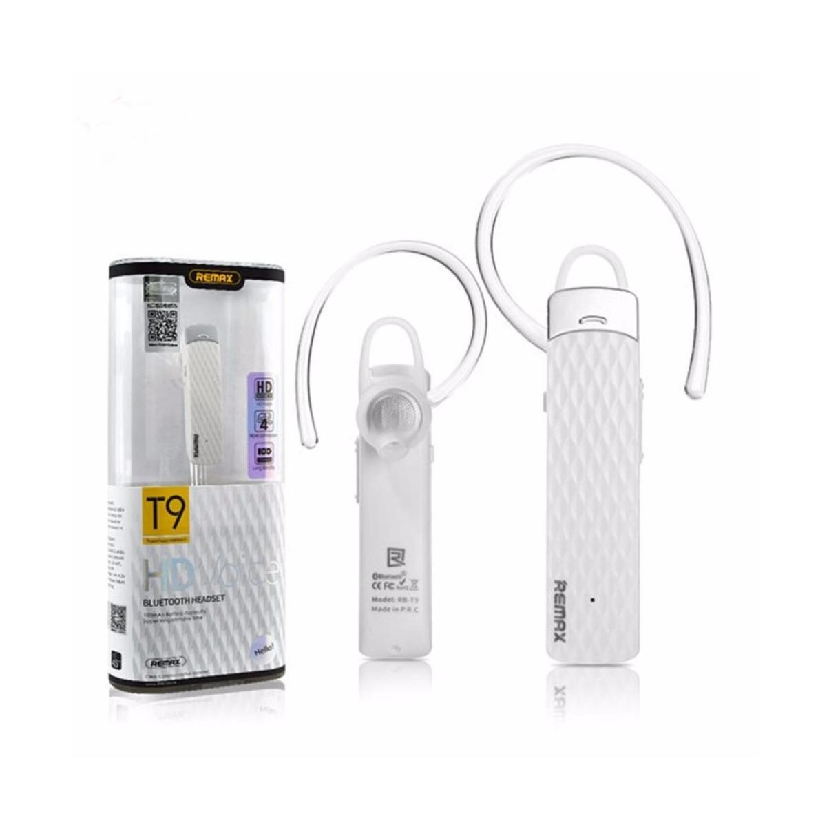 Tai Nghe Bluetooth RB-T9 Remax + Tặng Kèm 1 Ghế Đỡ Điện Thoại Đa Năng T2- Hàng Chính Hãng