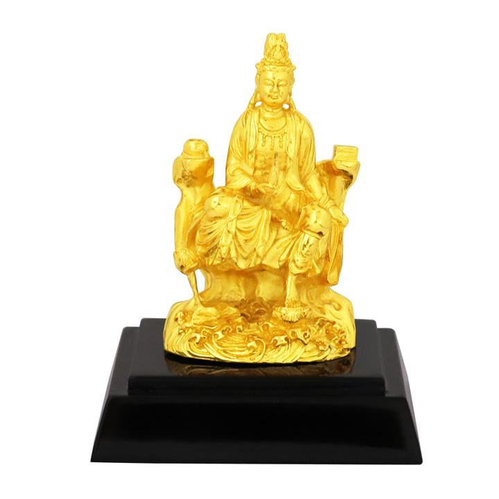 Tượng Phật Bà Quan Thái Âm Bồ Tát mạ vàng - quà tặng độc đáo, cầu bình an, sức khỏe, phúc lộc cho gia đình.