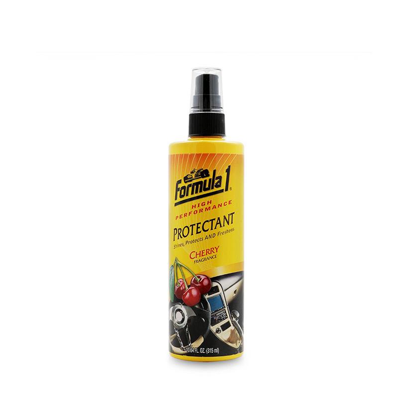 Chăm sóc nội thất xe Formula 1: Giặt nệm khử mùi dạng xịt-Chất bảo dưỡng 2 trong 1 hương Cherry-Sáp thơm ô tô trực thăng