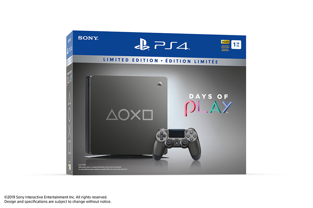 PS4 SLIM DAYS OF PLAY LIMITED EDITION 1TB MODEL 2218B - HÀNG CHÍNH HÃNG