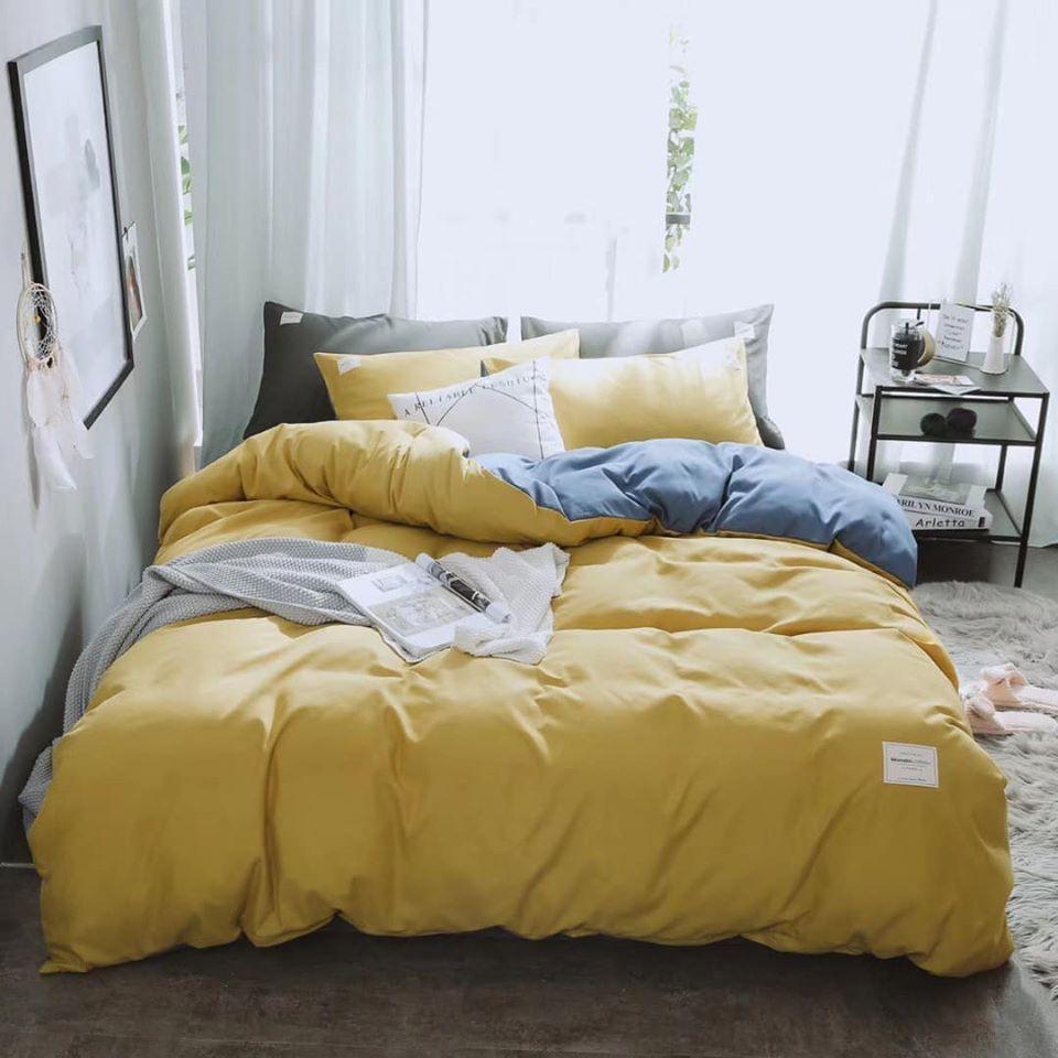 Bộ chăn ga 4 món cotton Tici cao cấp đủ size nhiều mẫu (không kèm ruột) TCA40