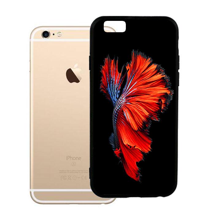 Ốp lưng viền TPU cao cấp dành cho iPhone 6 Plus - Fish 01
