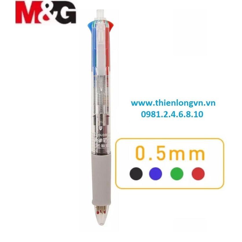 Bút bi 4 màu M&G - ABP80317