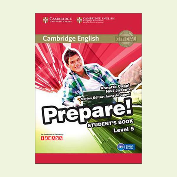 Cambridge English Prepare! Level 5 Student's Book - Reprint