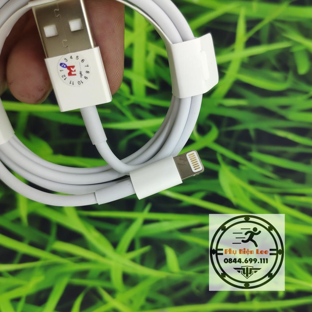 Bộ sản phẩm củ cáp sạc dành cho Iphone 5S, 6, 6S không nóng máy, an toàn cho pin