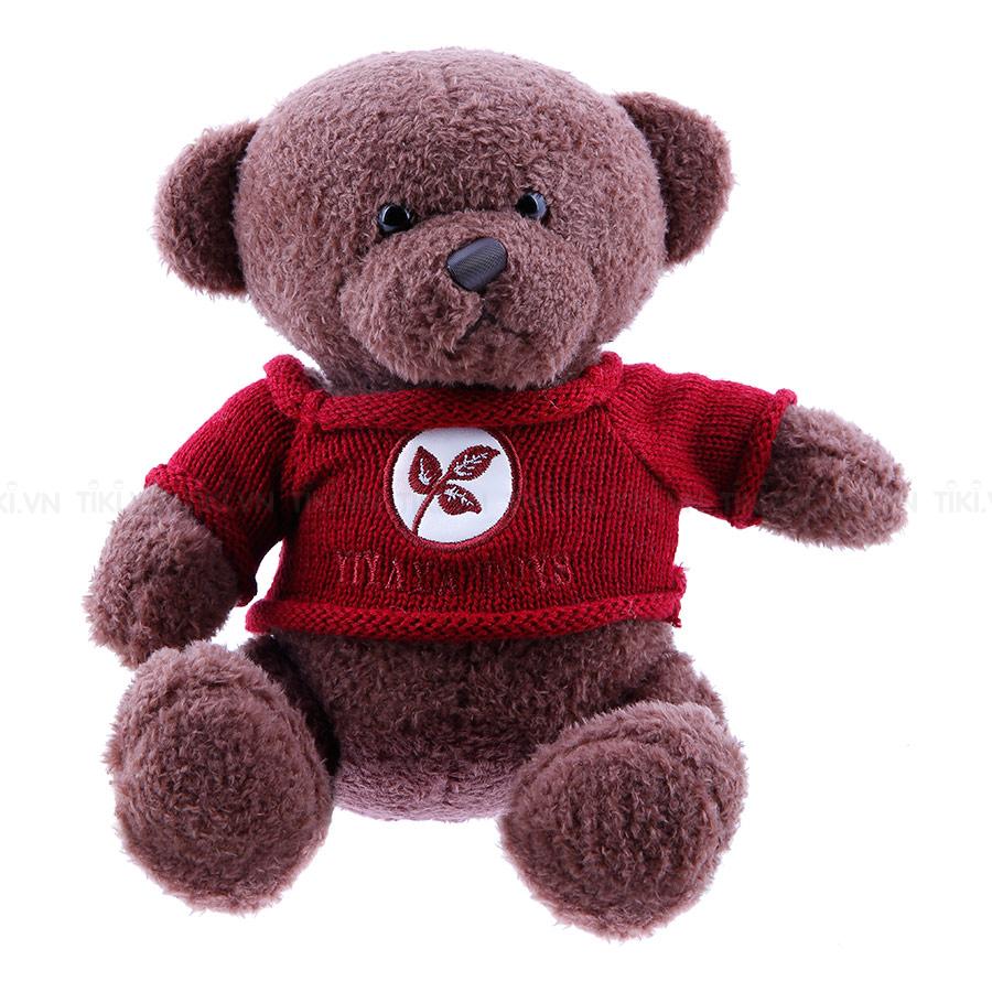 Gấu Nâu Áo Len 080 Thanh Trà