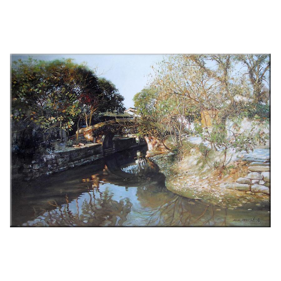 Tranh Canvas Thế Giới Tranh Đẹp Scenery-113