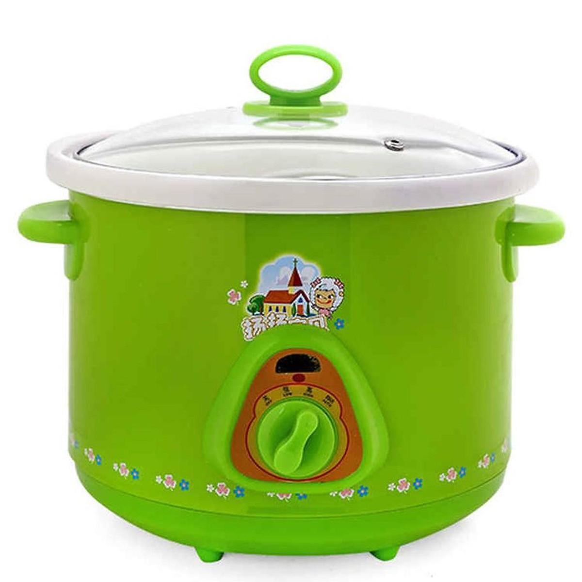 Nồi tiềm yến, nấu cháo,.. đa năng dung tích 1,5L Tặng kèm 10 muỗng súp inox