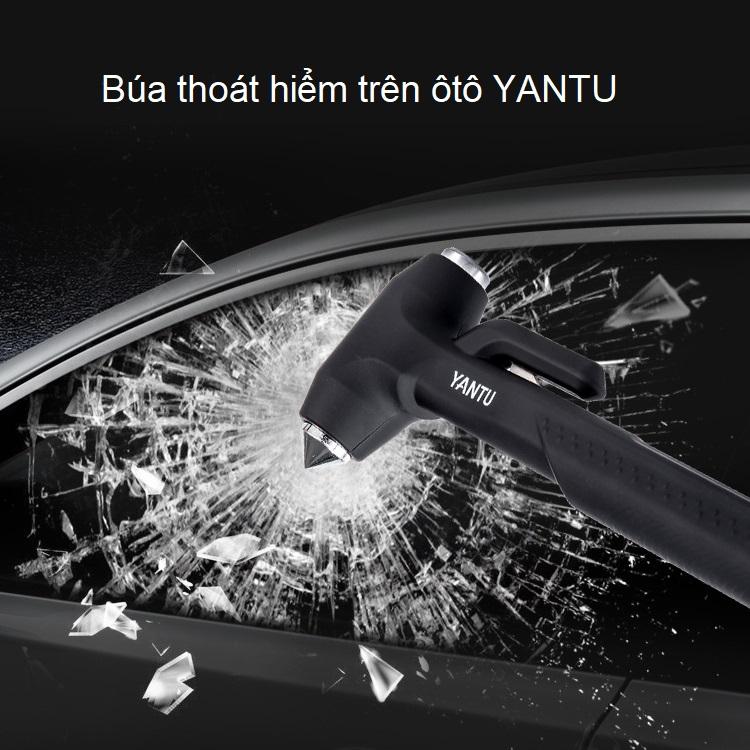 Búa thoát hiểm trên ô tô F05 ( Lõi kim loại siêu cứng, tay cầm chắc chắn ) - Hàng nhập khẩu