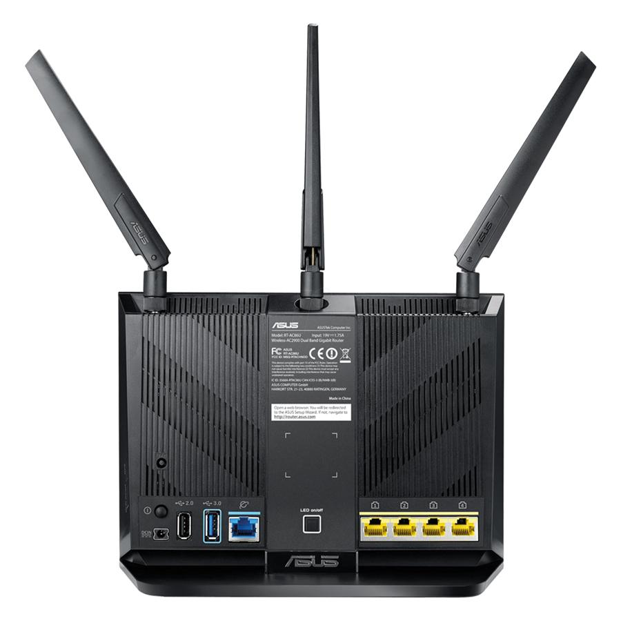Router Wifi Asus RT-AC86U AC2900 MU-MIMO - Hàng Chính Hãng