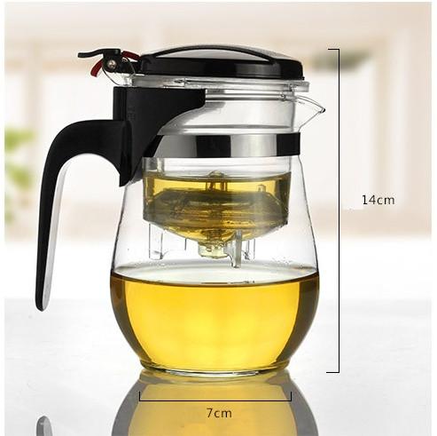 bình pha trà thủy tinh, ấm pha trà thủy tinh, ấm trà, bình trà, bình lọc cà phê