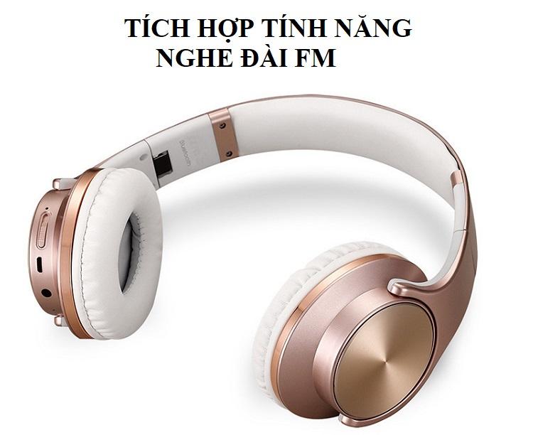 Tai Nghe Bluetooth Kiêm Loa .MH5 Thiết kế Hiện Đại
