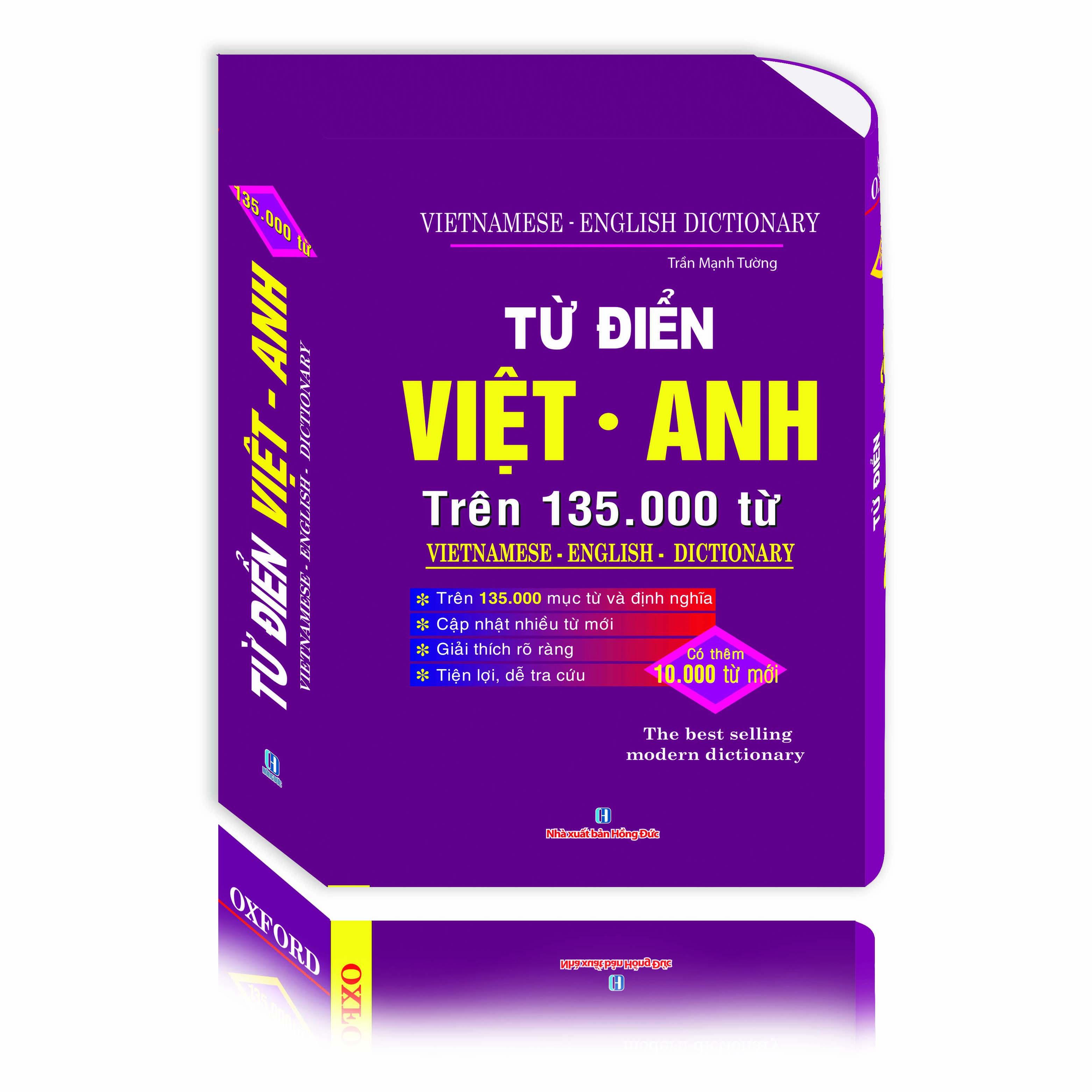 Từ Điển Việt Anh Trên 135.000 Từ