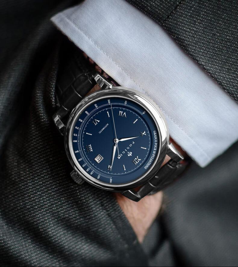 Đồng hồ nam chính hãng Poniger P3.05-3