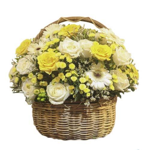 Giỏ hoa tươi - Ngày Mật 3288