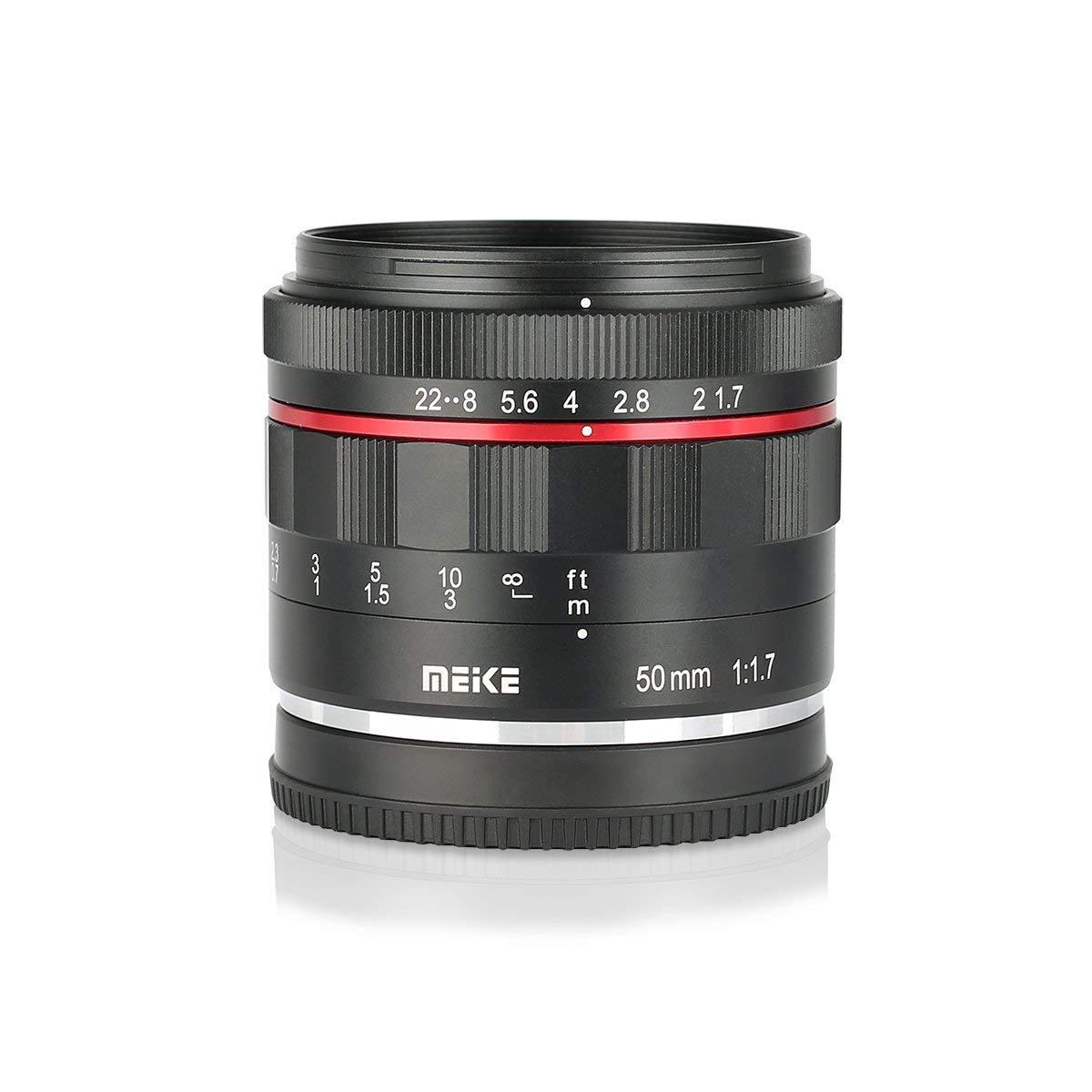 Ống kính Meike 50mm f1.7 Full- Frame for Sony E-Mount- Hàng Nhập Khẩu