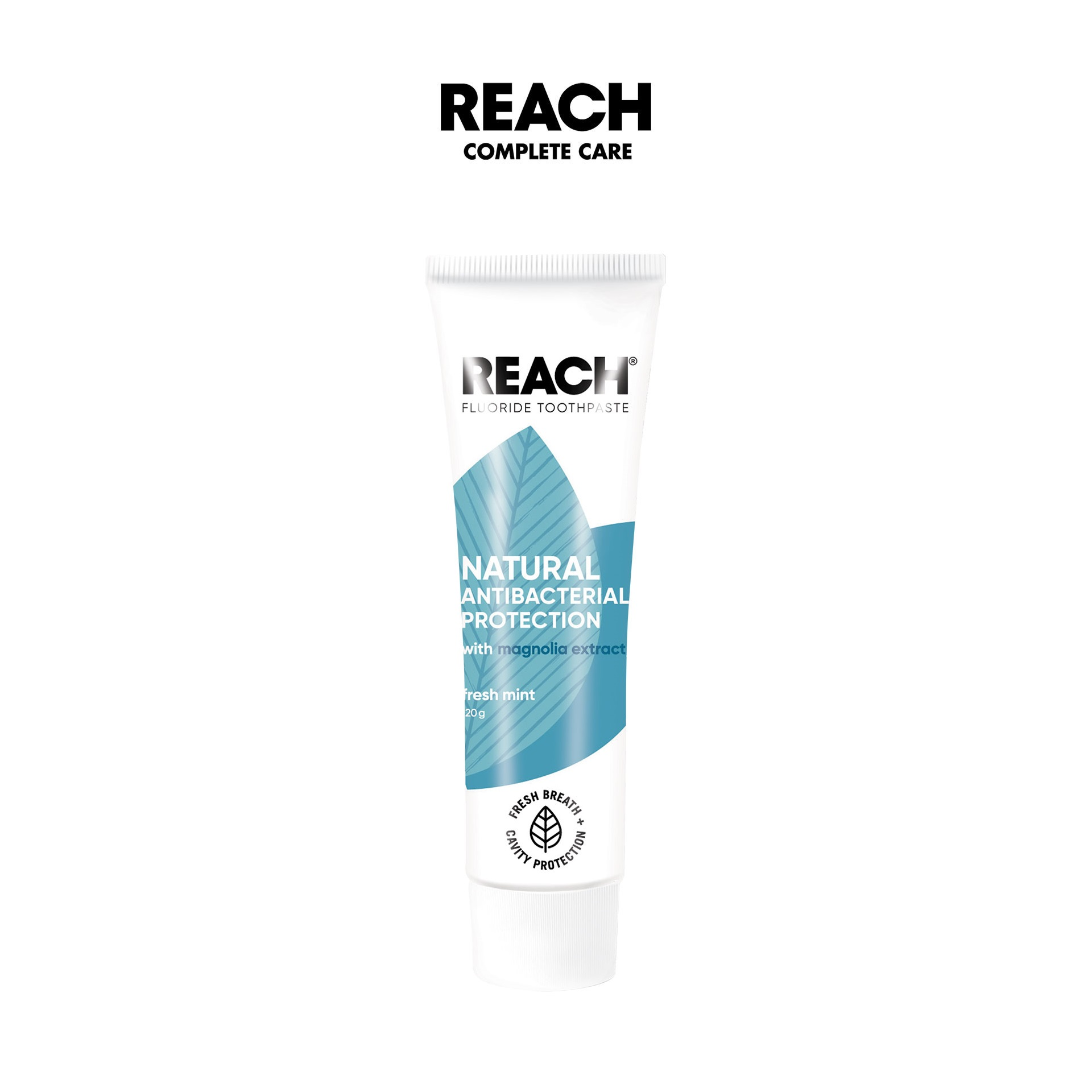Kem đánh răng kháng khuẩn Reach Flouride Fresh Mint 120gr - Hương Sảng Khoái