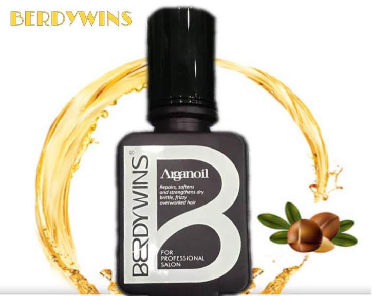 Tinh dầu BERDYWINS Argan Oil phục hồi dưỡng bóng mượt tóc 50ml