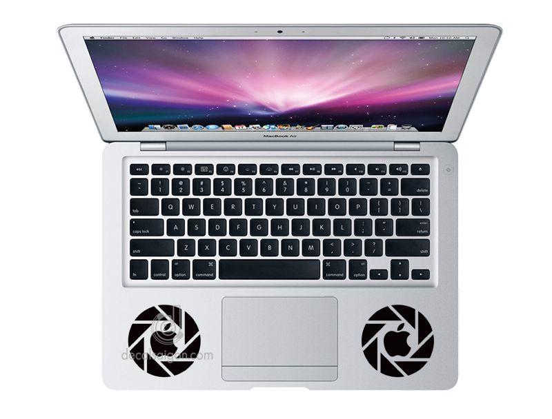 Mẫu Dán Decal Macbook - Nghệ Thuật Mac 104 cỡ 13 inch