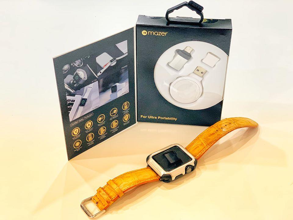 Đế sạc không dây dành cho APPLE WATCH- APPLE WATCH WIRELESS CHARGER- hàng nhập khẩu