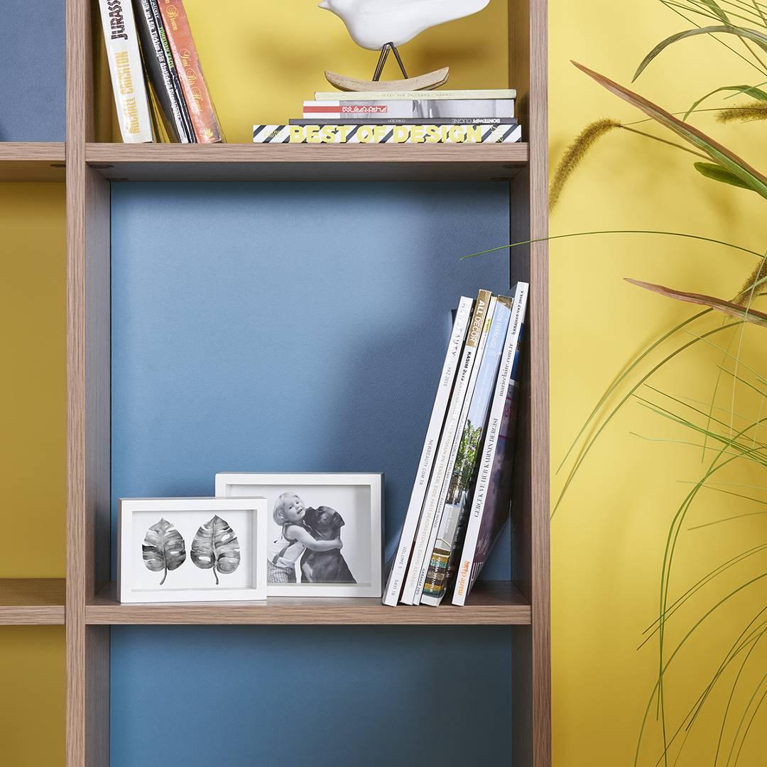 Kệ sách gỗ hiện đại SMLIFE Barnes