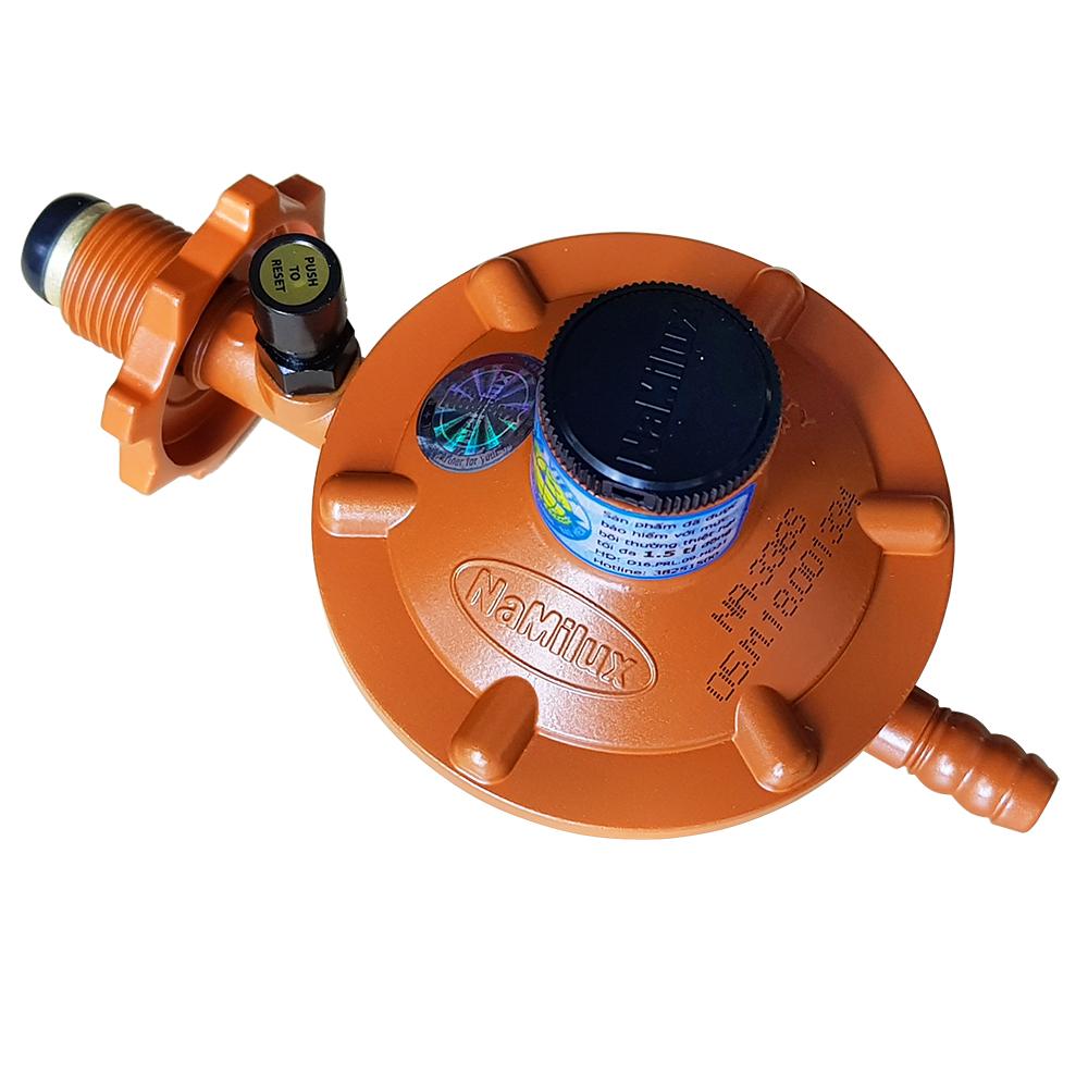 Van ga điều áp ngắt ga tự động Namilux NA-336S-VN (dùng cho mọi loại bình ga hiện nay trừ bình ga đỏ) - Hàng chính hãng