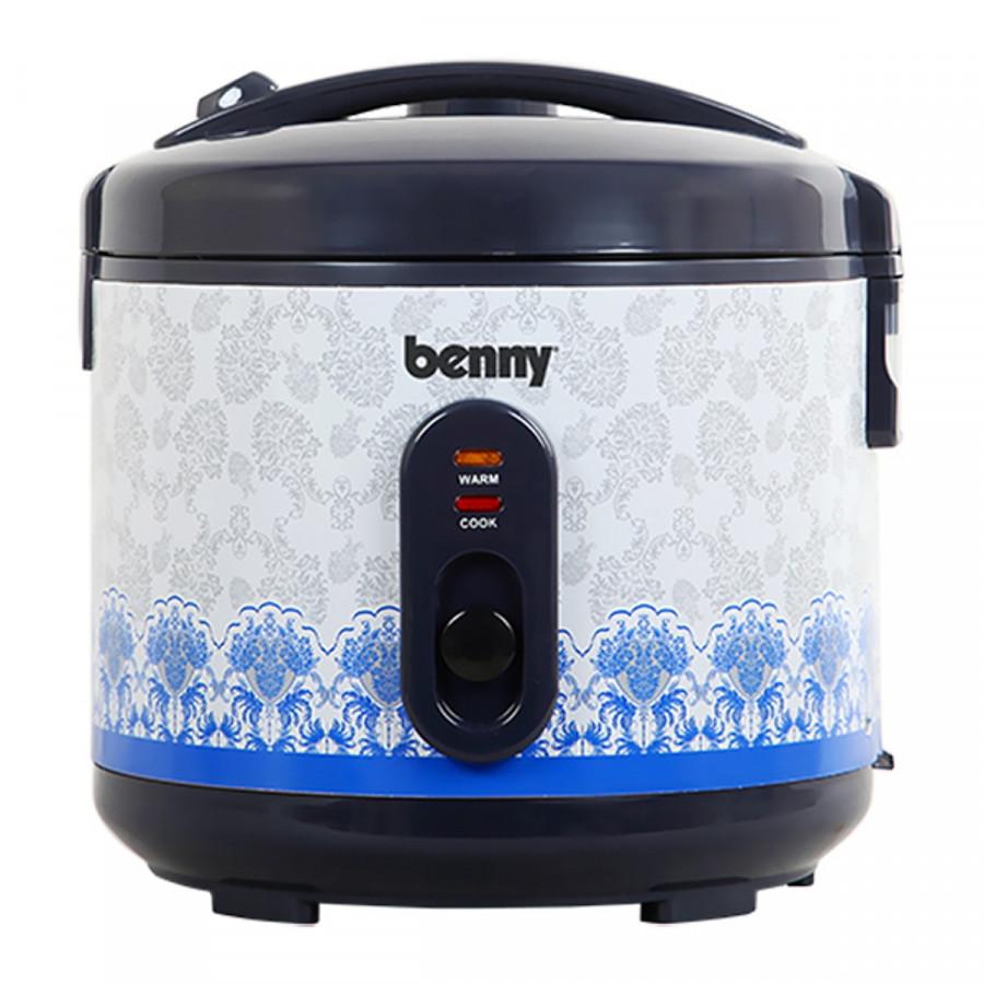 Nồi Cơm Điện Nắp Gài Benny BR-MVN187 1.8 Lít (Hàng chính hãng)