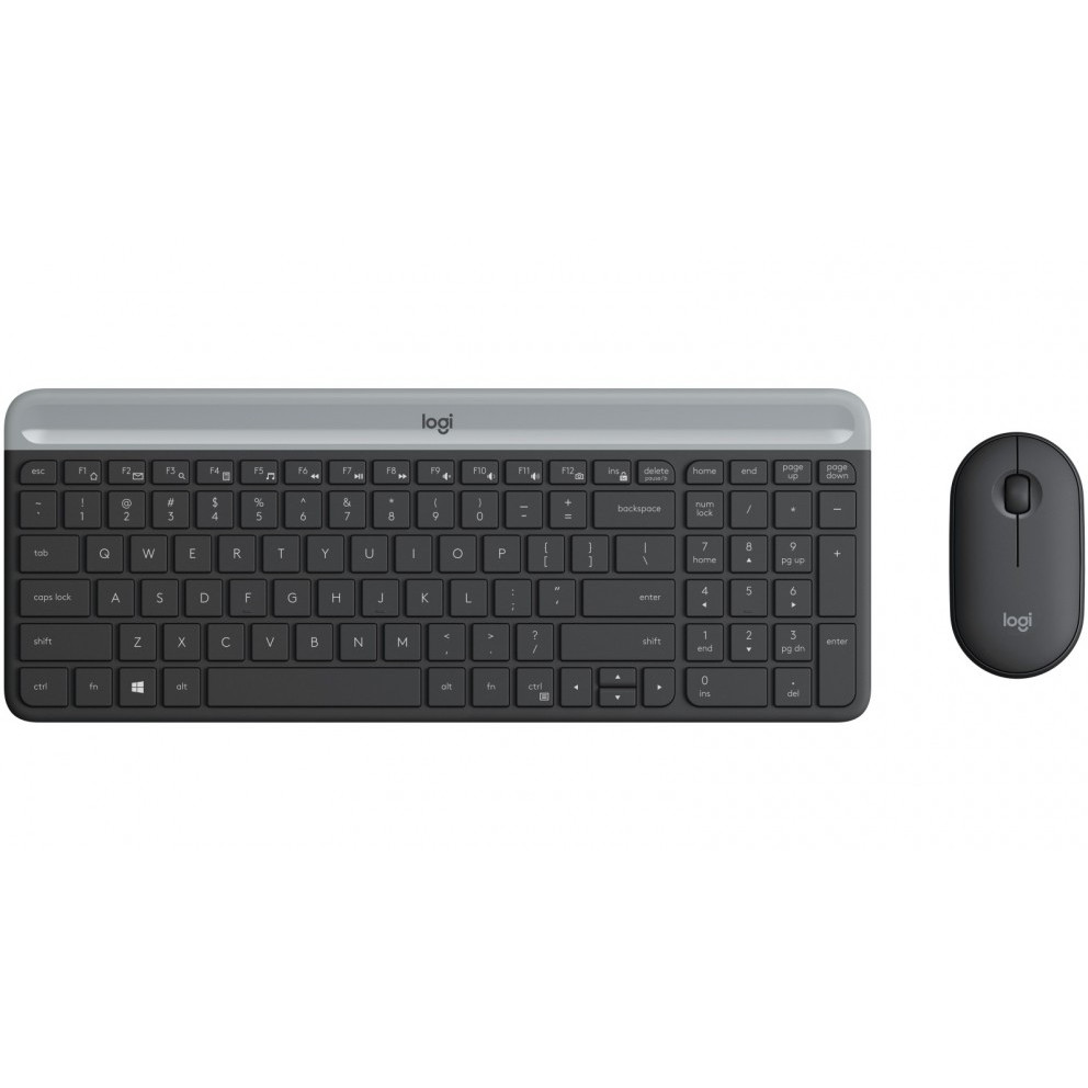 Bộ phím chuột không dây logitech MK470 Slim - Hàng Chính Hãng