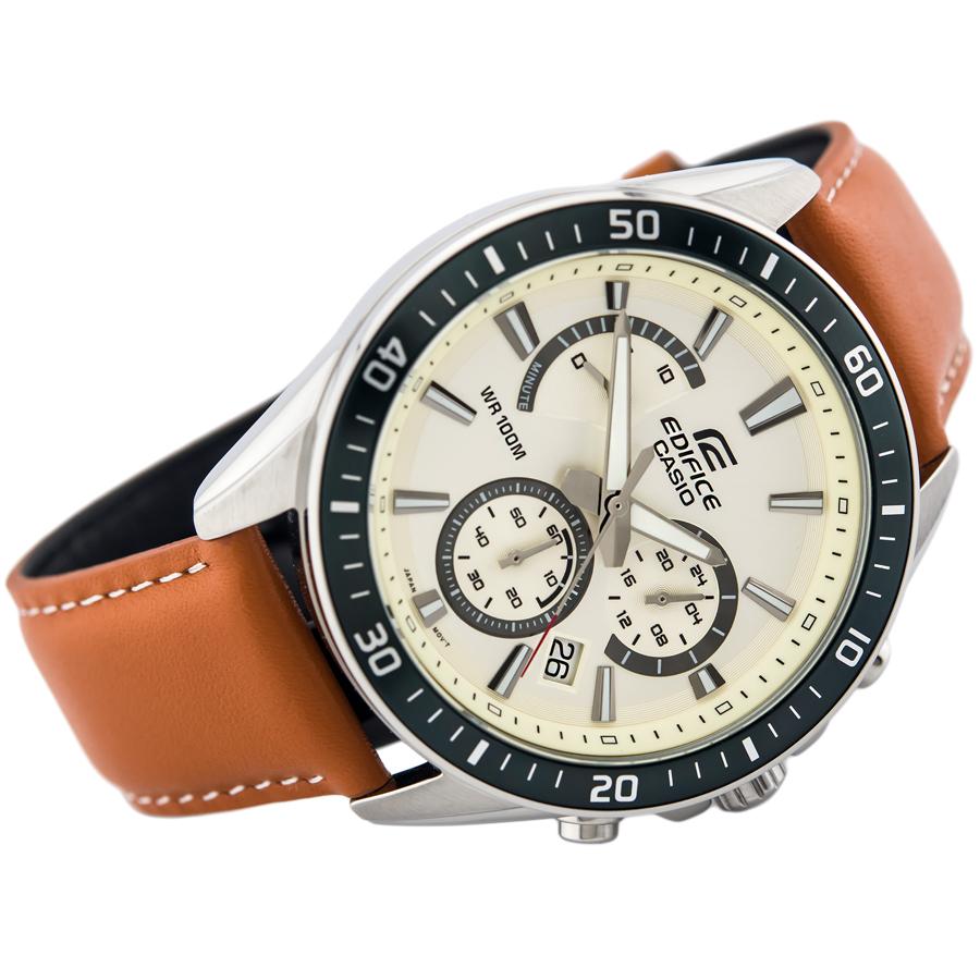Đồng hồ nam dây da Casio Edifice chính hãng EFR-552L-7AVUDF