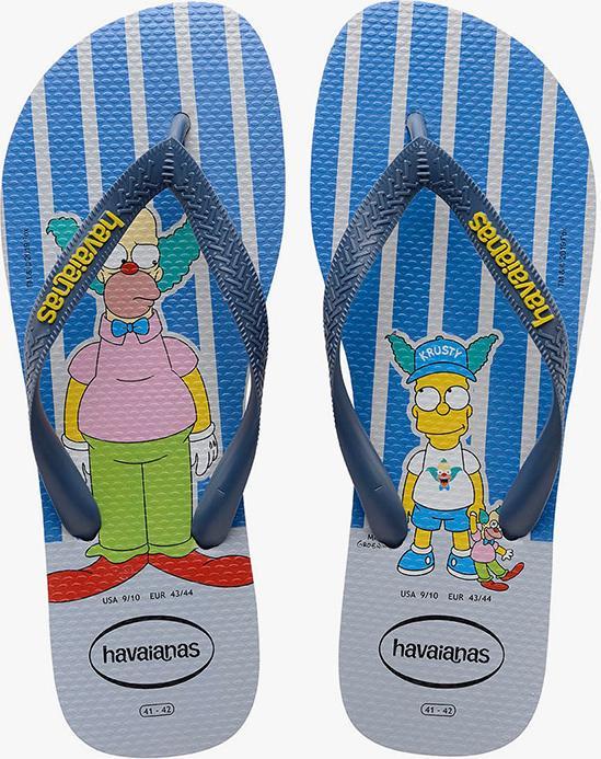 HAVAIANAS - Dép nam Simpsons 4137889-9427