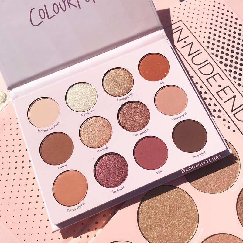 Bảng Mắt Colourpop Give It To Me Straight