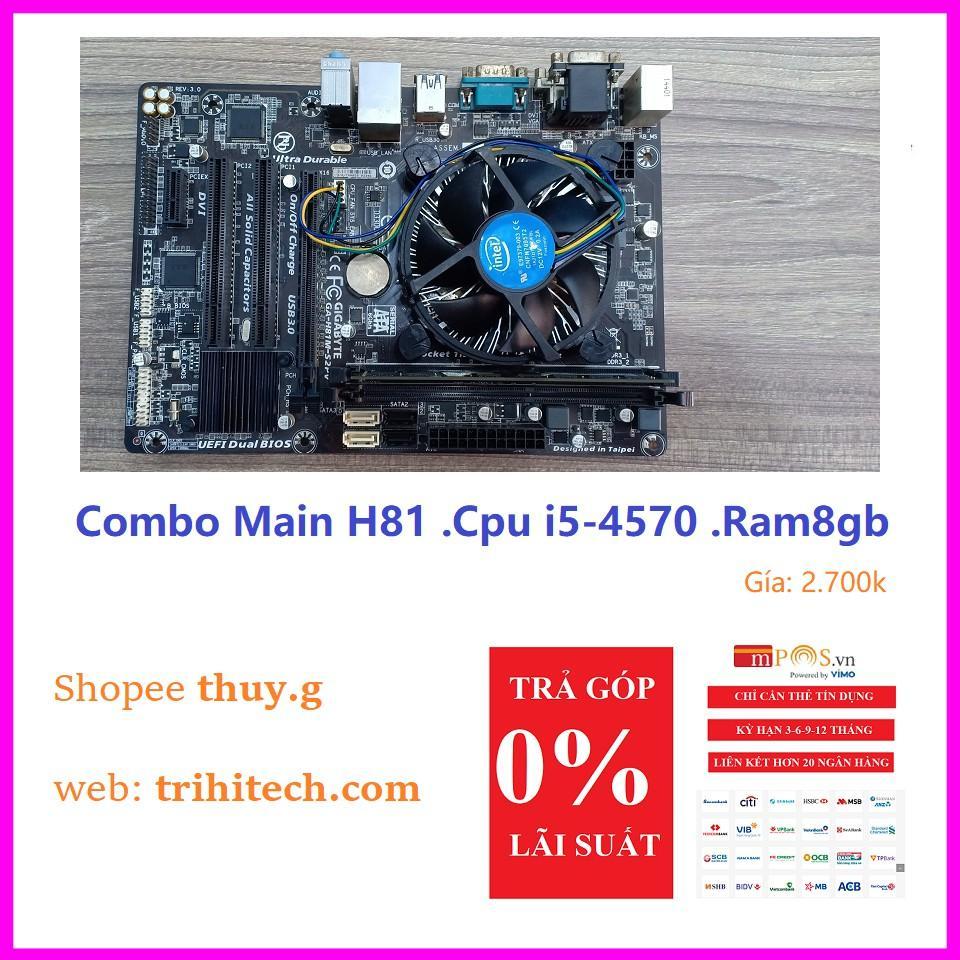 COMBO Main cpu ram giá rẻ zin hàng đẹp chơi các game