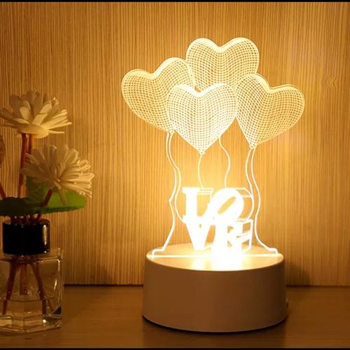 Đèn trang trí phòng ngủ nhiều hình - Đèn ngủ trang trí