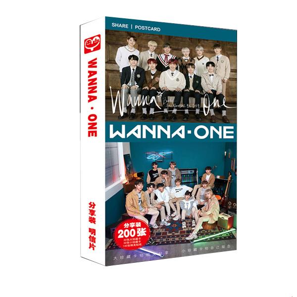 Postcard Wanna One 200 hình