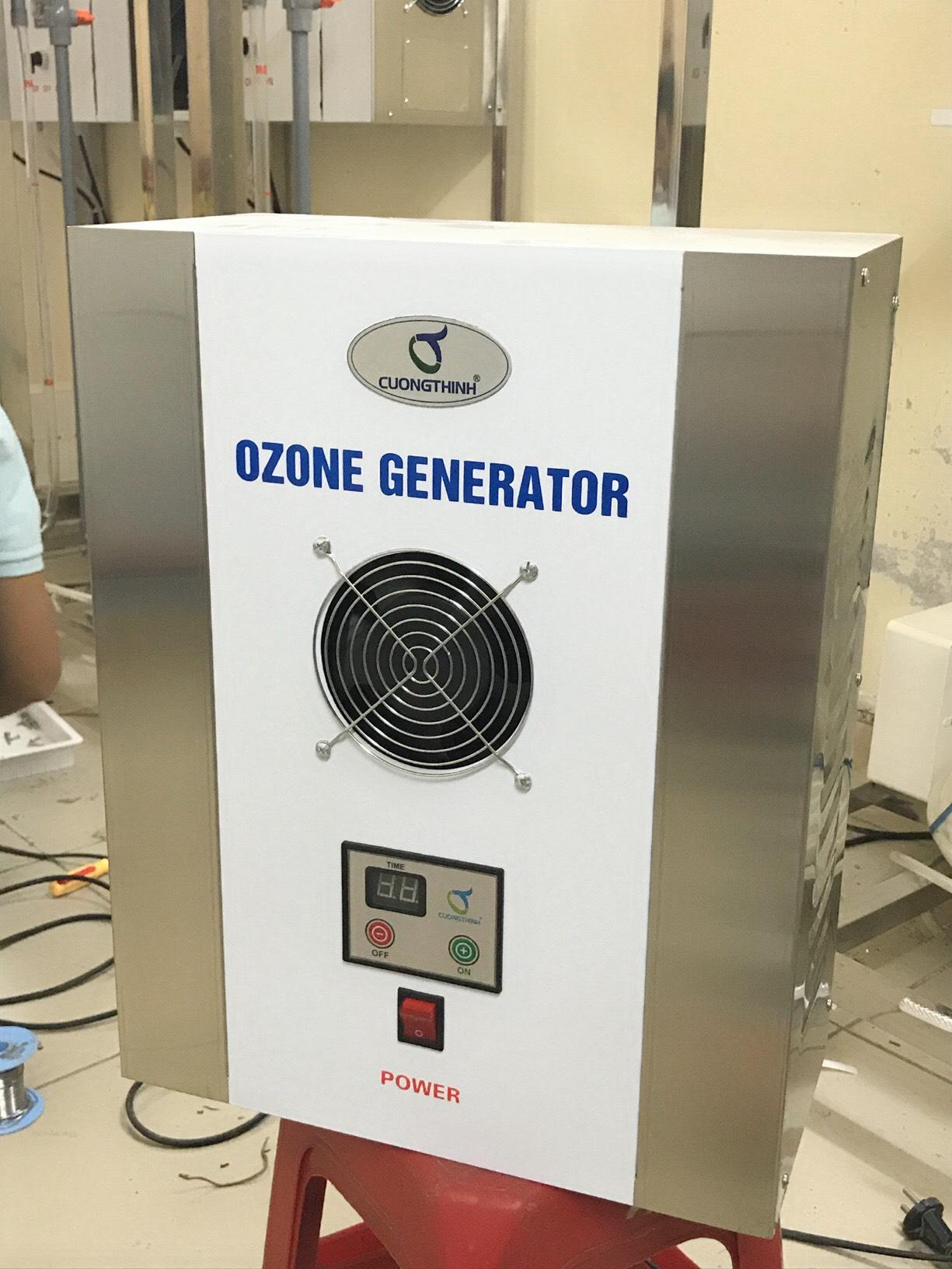 Máy tạo khí ozone  Công nghiệp diệt khuẩn Cường Thịnh Z-1 Công Suất 1G/H O3g/h - Hàng Chính Hãng