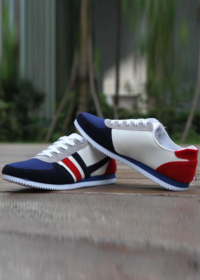 Giày sneaker thời trang nam ,sọc cá tính 9600602