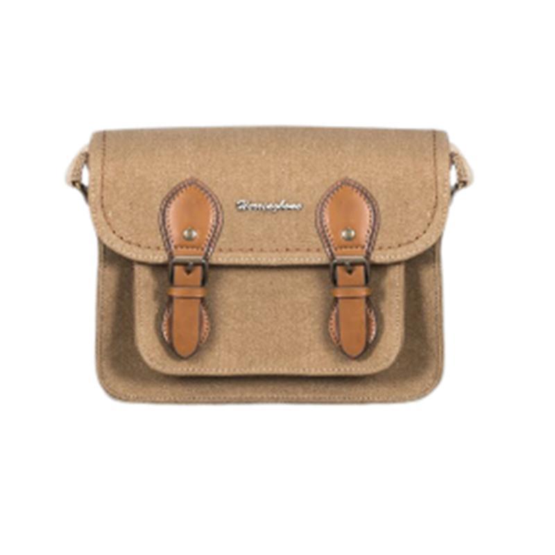 Túi máy ảnh Herringbone Papaspocket V4 Mini - Khaki color (Thương hiệu Hàn Quốc)