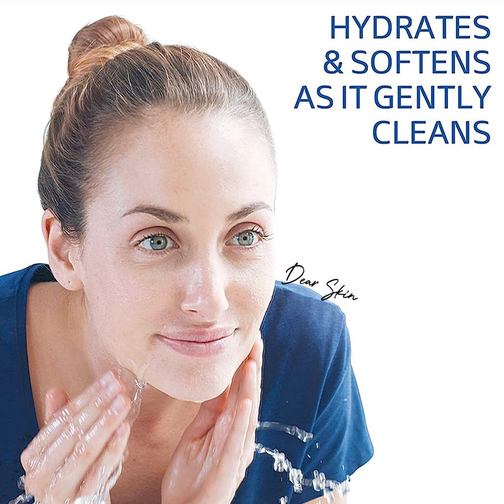 Sữa Rửa Mặt Dành Cho Da Nhạy Cảm Cetaphil Gentle Skin Cleanser 125ml + Tẩy Tế Bào Chết Mini Wonder Bath Super Vegitoks Cleanser 3ml