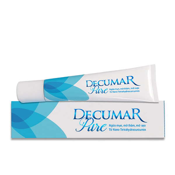 Gel ngăn ngừa mụn Decumar Pure